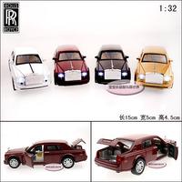 ROLLS-ROYCE cool acoustooptical three door alloy car model free air mail