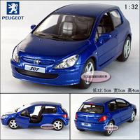 peugeot 307 xsi blue alloy car models free air mail