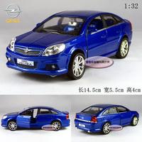 1:32 Opel vectra opc blue alloy car models plain free air mail