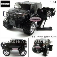 Ultralarge paragraph of the humvees h2 charge 4runner remote control car model free air mail