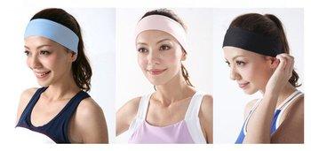 (100 Pcs/Lot) Best For Yoga/Sports 6 Colors Women Lady Girl's Elastic Headbands,Hair Headwear