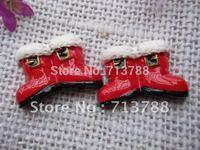 flat back resin christmas present  for phone decoration 12pcs/lot