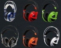 Best-selling!!!SteelSeries V2 Headset+Bag / gaming Headphones / 4 Colors / Without Boxed / Free shipping!