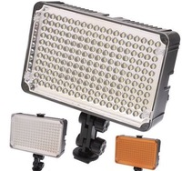 Free shipping, Aputure Amaran 198 LED Video Lamp Light for Nikon Canon Sony Camera + Stand PE007Z