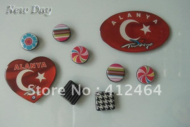 Door to door shipment metal fridge magnets (ss-1155)(China (Mainland))