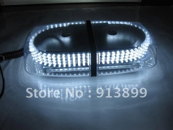 Bright White 240-LED Snow Plow Strobe Warning Emergency Flashing Light Lamp