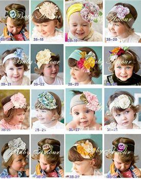 New cute hair band girls' Autumn Bouquet HEADBAND hat cap hair band head wrap  free shipping