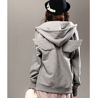 personalized wings sweatshirt  leisure hoodies