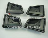 Free shipping, (DHSUBK101LRX2) Inner Interior Door Handle Black 4 PCS For Suzuki Sidekick