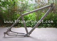 Titanium MTB Bike Frame with Titanium Rohloff Sliding Dropouts