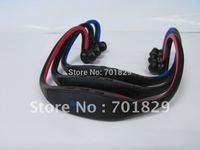 Bluetooth Slim Stereo Headset sport mp3 Free shipping 20piece/lot