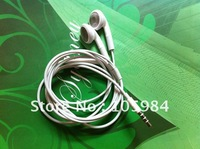 Best quality handfree  headsets  Stereo earphone for iphone4/4S with VOL control +Mic+ handfree A++ quality  10pcs