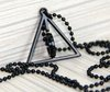 HARRY POTTER Deathly Hallows Logo Metal Necklace cosplay toy MIDDLE ring/circle MOVING  free shipping wholesale