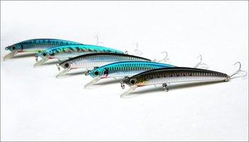 ILURE Hard Plastic Fishing Lure Minnow 130mm two VMC hookS