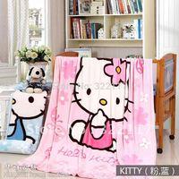 free shipping pretty cartoon blanket,children cartoon blanket 150X200CM.