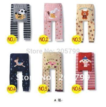 3pcs Baby Pants Baby Clothing Leggings Cotton PP Pants Baby Pant Kids' Legging