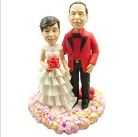 Wedding Couple, Customized bobble head, bobble heads personalized, make bobble heads free Shipping