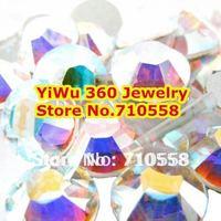 SS4 Crystal AB color 1440pcs Non Hotfix Rhinestones 1.5mm flatback Nail Art Rhinestones