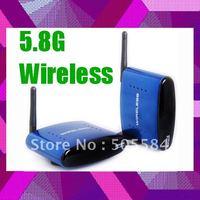 5.8G wireless AV Transmitter Sender Receiver kit, Wireless Home Audio Video Transceiver system with 200M Distance,Retail packing