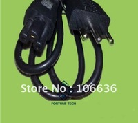 Whole Sale Italian AU AC Cable 110V 220V 100pcs/lot CE Freeshipping By DHL / Fedex / UPS