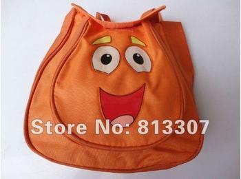 Child  Pre Backpack Shool Bag Orange Toddler  Nylon  Dora the Explorer Retail