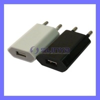 global EU Wall USB Charger Adapter for iPhone 3G 3GS 4G 50pcs/lot