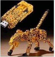 Toy Machine leopard Model USB 2.0 Flash Memory Stick Pen Drive 2GB 4GB 8GB 16GB 32GB LU046