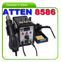 ATTEN AT8586  2 in 1 Soldering Station hot air gun + solder iron