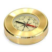 Free Shipping Mini Delicate Copper Compass /Compass Mac Mini brass compass