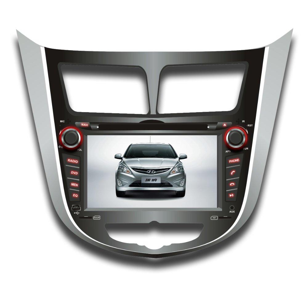 "7"" Redio GPS For  HYUNDAI Verna"