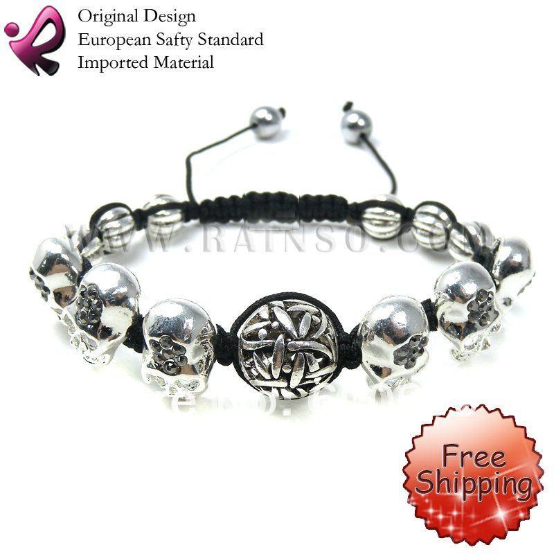 Skull Bracelets Wholesale Skull Bracelet Shamballa