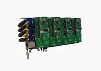 GSM400E 4 ports GSM modules Asterisk card PCI-E card for voip elastix trixbox GSM GOIP ip pbx support dahdi driver