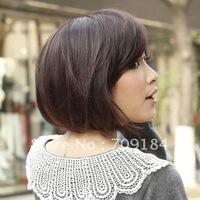 3 Color Stylish Fashionable BOB style Lady Wavy Wigs Free shipping
