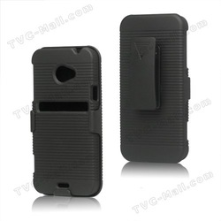 For HTC Evo 4G LTE X720d Slide Case Kickstand with Swivel Belt Clip Stand(China (Mainland))