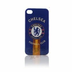 Free Shipping Hard case for iPhone 4 4G 4GS 4S case with football team pattern(China (Mainland))