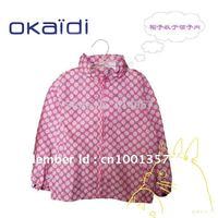 Kid Outerwear & Coats, Girl Raincoat, Children Windbreak, Child Wind Coat Free Shipping