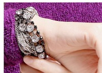 Han edition of the new jewelry rhinestone bracelet chain gem punk wind trend