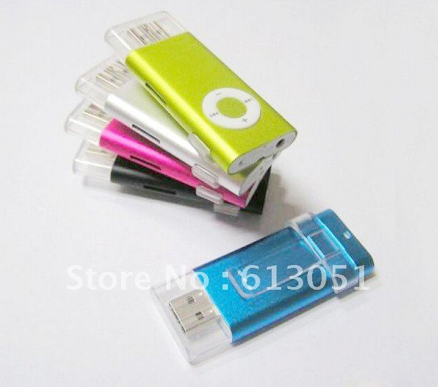 free DHL 200pcs 2nd USB MP3 player Digital mp3 player with TF Slot Best sound 5 colors in stock pop(China (Mainland))