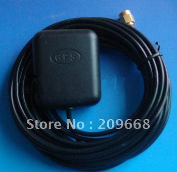 Free Shipping 3M 10ft RG174 straight end SMA Car GPS antenna SMA connection auto navigator antenna aerial
