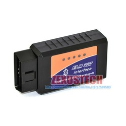 2012 ELM327 Bluetooth OBD/ODB2 Diagnostic Interface Scanner ,Elm327 Bluetooth Car Scan Tool For BMW Honda Benz FREE SHIPPING(China (Mainland))