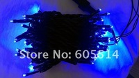 [Seven Neon]Free DHL shipping 30sets 220V 10meters 100bulbs/pcs light strings with rainning proof and snowproof for X'mas