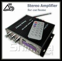 DHL Freeshipping Class HiFi AMP Power Amplifier Mini Digital Car Amplifier 4CH