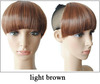 Wholesale New Women False Bang Neat Fringe Clip in Hair Extensions Head Accessories Free Shipping  10pcs/Lot PP02