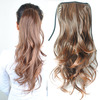 Wholesale New Women's Girls Wave Clip Hair Piece Ponytail Wig Hairpiece Synthetic Fiber Free Shipping  10pcs/Lot PP03