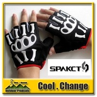 2012 New Famous Brand Spakct Gel Bike Gloves Cycling Bicycle Half Finger Short Finger Gloves CG015 Best Selling Retail&Wholesale