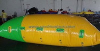 inflatable water blob catapult