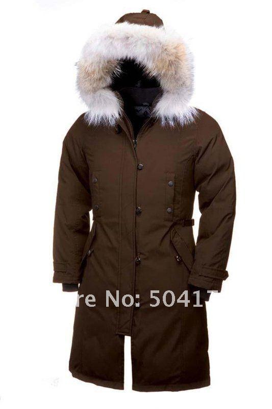 Dark Brown Winter Coat - Coat Nj