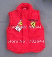 autumn new style ,baby boy's F1 vest Fur Vest Waistcoat winter vest/coat ,5 pcs/lot