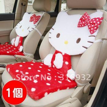 U1 Plush Hello Kitty car series car cushion / seat cushion car seat cover, 1pc Free shipping