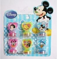 Cartoon Stamp set / stamp children toy  Free shipping 30pcs/5set/lot